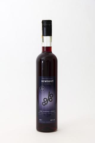Poněšický černorybízový likér 35% 0,5l - Pinta