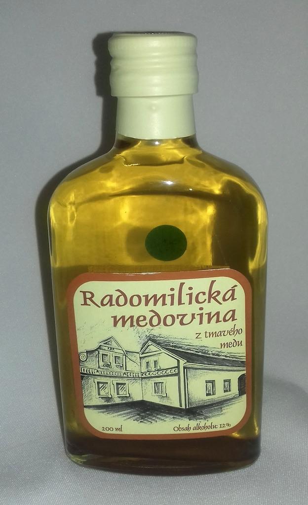 Radomilická medovina tmavá 200 ml