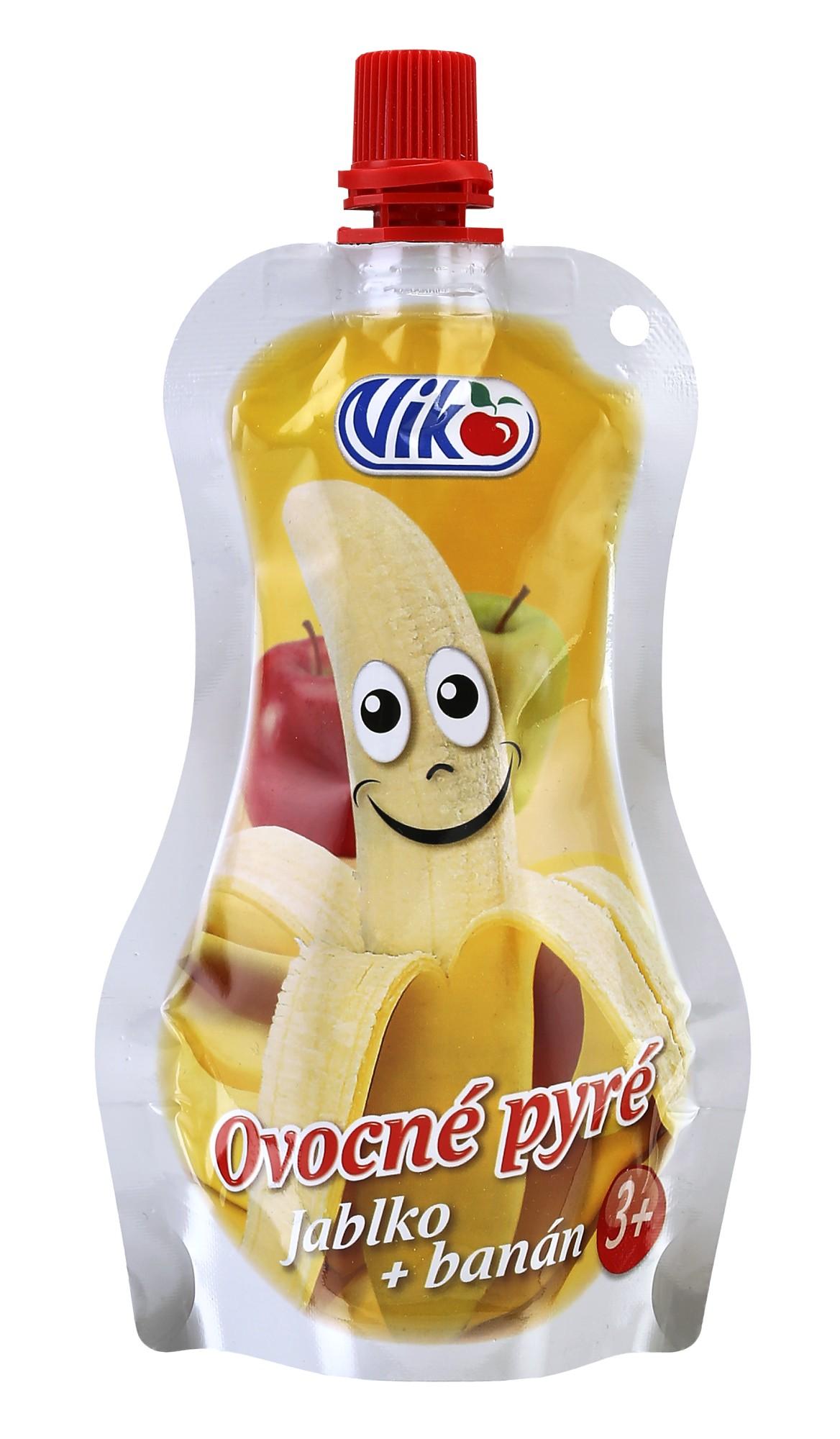 Ovocné pyré - jablko + banán